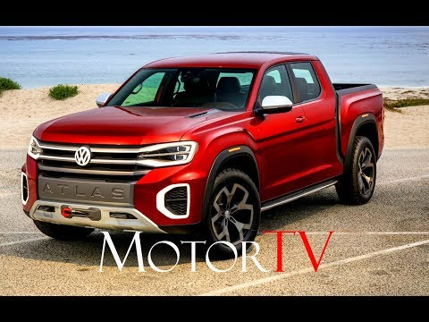 DESIGN PREVIEW : VOLKSWAGEN ATLAS CROSS SPORT CONCEPT & ATLAS TANOAK CONCEPT