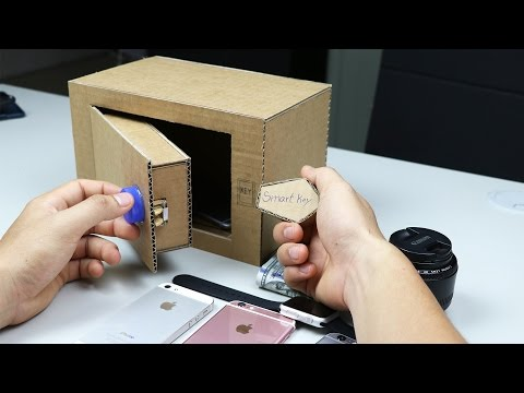 How to Make a Safe Locker with Smart Key