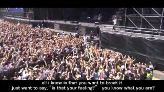 Never Let This Go   One Ok Rock Live [EngSub]