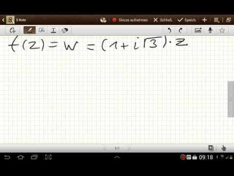 Die Komplexen Funktionen (Komplexe Analysis)