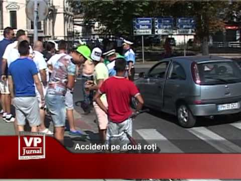Accident pe două roți