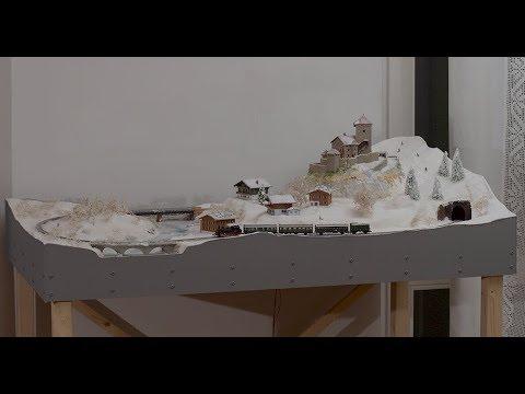 La fascia perimetrale nel plastico ferroviario