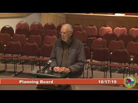 Planning Board 10.17.2019