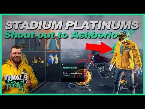 Trials Rising Stadium Platinum clean up - Live Stream