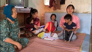 Chị Cúc sanh hơn 1 tháng đã phải làm mọi việc trong ngoài - Hương vị đồng quê - Bến Tre - Miền Tây