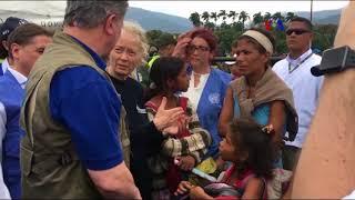EE.UU. garantiza fondos para ayuda de venezolanos en Colombia