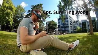 Whooping im Garten | Mobula6 HD | Die kleinste HD-Drohne | FPV Racing Drone