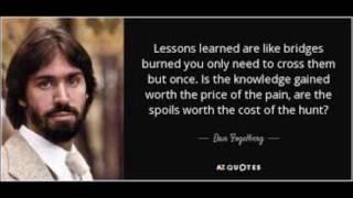 Dan Fogelberg - Lessons Learned