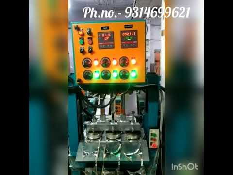 Triple Die Hydraulic Machine