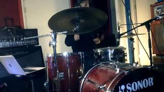 "Dj Krush feat Ahmir ""Questlove"" Thompson-Endless Railway(Drum Cover)"