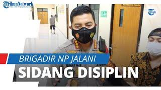 Pemeriksaan Rampung, Brigadir NP yang Banting Mahasiswa Jalani Sidang Disiplin di Polda Banten