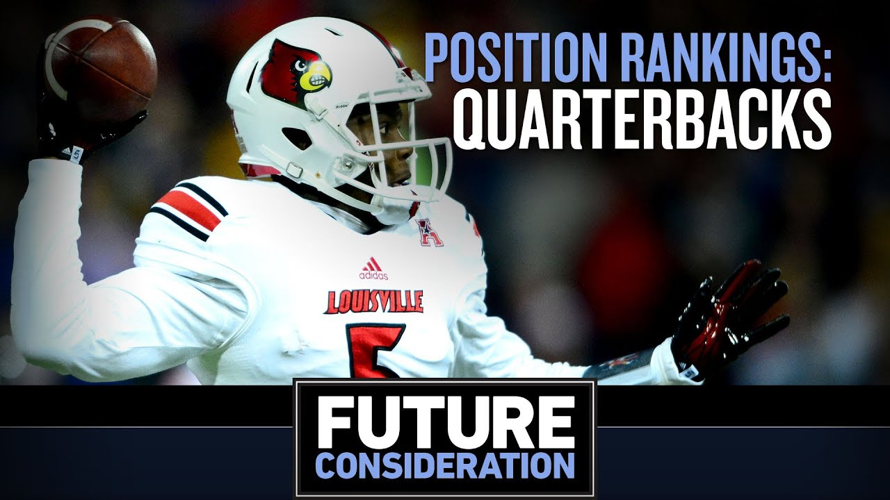 Ranking the NFL Draft's top five QBs (Future Consideration) thumbnail