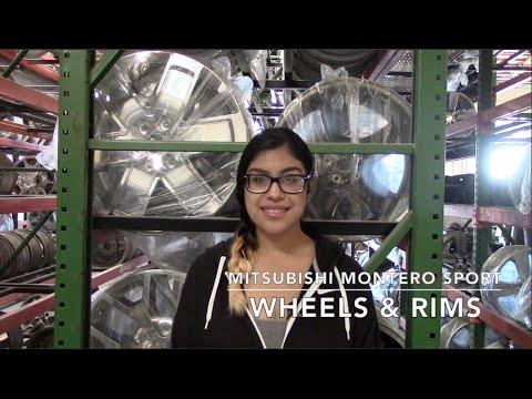 Factory Original Mitsubishi Montero Sport Rims & OEM Montero Sport Wheels – OriginalWheel.com