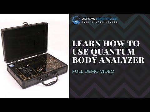 Palm Quantum Resonance Magnetic Body Analyzer