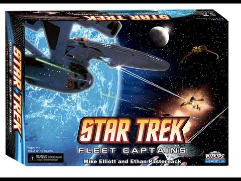 Star Trek Fleet Captains - Guest Review - Kirk from Roll and Move Reviews