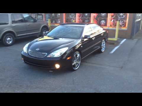 """Rimtyme of Charlotte rolling out a 2006 Lexus ES330 sitting on some 20"""" Elure rims"""