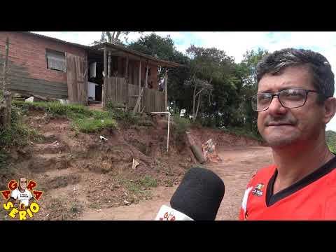 Vereador Chiquinho no local da Terraplenagem da Travessa do Sossego