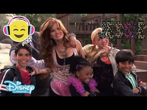 Jessie | Texas Guys Sing-along! | Official Disney Channel UK