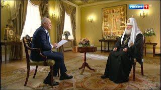Рождественское интервью Святейшего Патриарха Кирилла - Россия 24