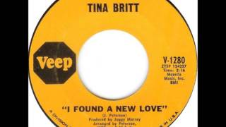 TINA BRITT -  I FOUND A NEW LOVE