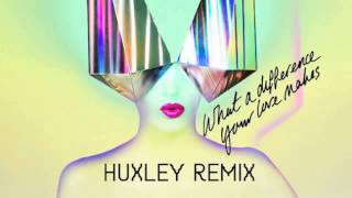 Basement Jaxx - What a Difference Your Love Makes (Huxley Remix)