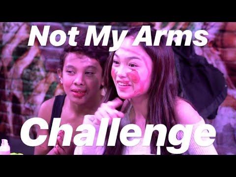 Not My Arms Challenge w/ Awra Briguela!! // Andree Bonifacio