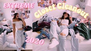EXTREME Closet Cleanout 2020