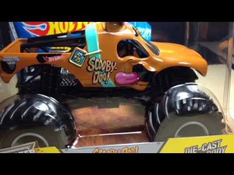 Hot Wheels Monster Jam 1:24 Scale Scooby Doo New For 2014!!!