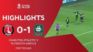 Jephcott Sends Plymouth Through | Charlton Athletic 0-1 Plymouth Argyle | Emirates FA Cup 2020-21