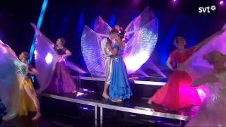 Danny Saucedo & Gina Dirawi - In The Club (Bollywood Version - Melodifestivalen 2013)