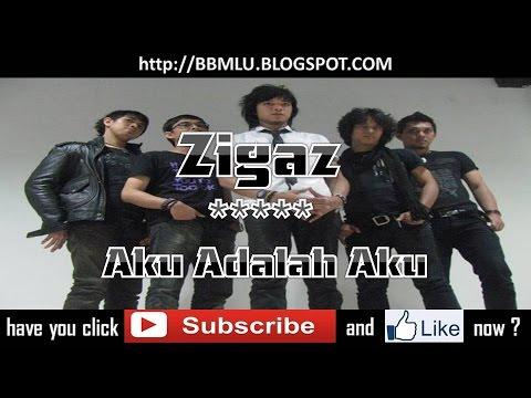 Zigaz - Aku Adalah Aku (LIRIK) | OFFICIAL LYRIC VIDEO @LIRIKMUSIK10