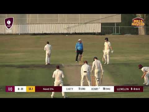 Bulls Masters First Grade Cricket - Round 9  - Ipswich / Logan v University of Queensland (Day 1)