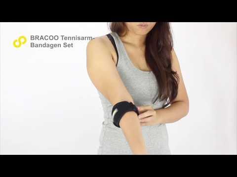 BRACOO 2er Set Tennisarm Bandage EP41