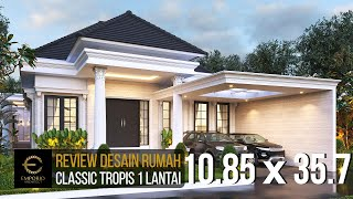 Video Mr. Wandaniel Classic House 1 Floor Design - Sumatera Utara