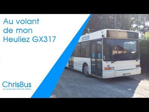 Autobus HEULIEZ GX317 RATP-France (1995) 1:43 New & Box Diecast Model