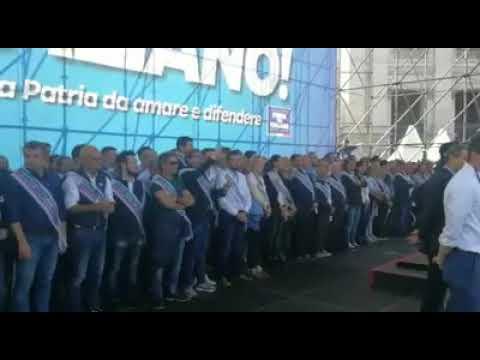 ''ORGOGLIO ITALIANO'': ANCHE IL PRESIDENTE TOTI PRESENTE A ROMA ALLA MANIFESTAZIONE DEL CENTRODESTRA