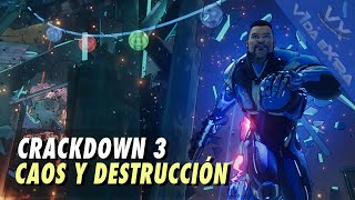 Crackdown 3: 50 minutos de caos y destrucción
