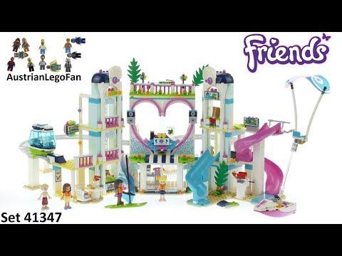 Vidéo LEGO Friends 41347 : Le complexe touristique d'Heartlake City