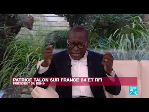 Extrait de l'interview du Président Patrice Talon accordée  à France 24 et RFI Extrait de l'interview du Président Patrice Talon accordée  à France 24 et RFI