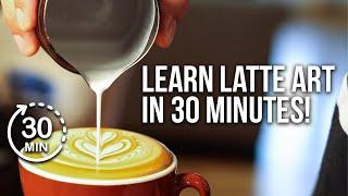 The ULTIMATE Guide to Latte Art! w/ 2x Latte Art World Champion