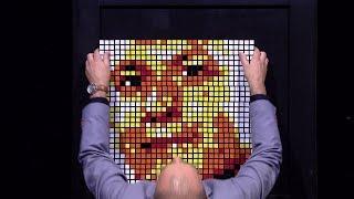 Adam Polkowski - Geniusz, który kostki zamienia w obrazy - The Brain. Genialny Umysł