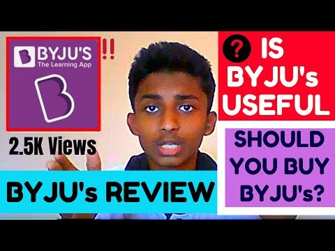 Byju's The Learning App – Review | My First Review | SB World