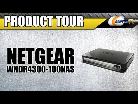 Newegg TV: NETGEAR WNDR4300-100NAS N750 Wireless Dual Band Gigabit Router Product Tour