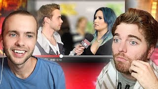REACTING TO MY CELEBRITY INTERVIEWS!