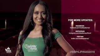 Alannis Reign Binoya Binibining Pilipinas 2019 Introduction Video