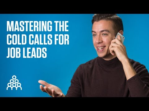 , title : 'Mastering the cold calls for job leads (4 tips)