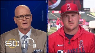 Mike Trout talks pressure of $426.5M deal from Angels | SC with SVP