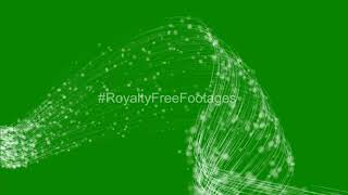 white particles green screen background HD | green screen video effects | green screen effects smoke