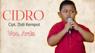 Download lagu Arda Cidro Mp3