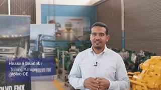 Interview with #Volvo CE Training Manager